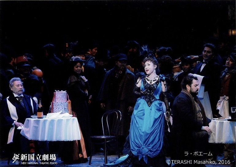ヴェルディ 歌劇「ラ・ボエーム」よりアルチンドロ (2016.11.新国立劇場) (C)TERASHI Masahiko