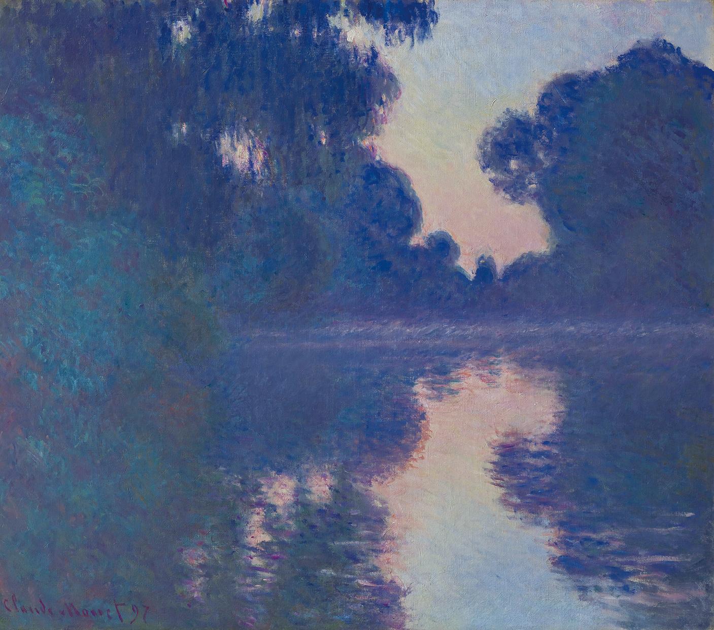 クロード・モネ 《セーヌ河の朝》1897年 ひろしま美術館蔵