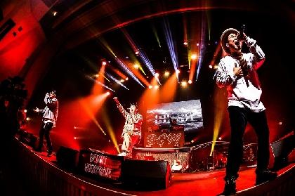 ベリーグッドマン、TEPPAN TOUR全4公演を完走 LINE CUBE SHIBUYAでの追加公演開催を発表