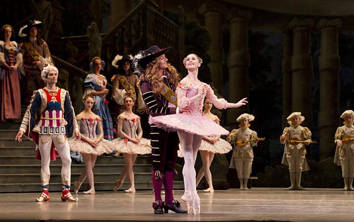 英国ロイヤルバレエ団『眠れる森の美女』 マリアネラ・ヌニェス © ROH/Johan Persson