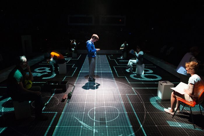 The Curious Incident of the Dog in The Night-Time (Photo:Manuel Harlan)