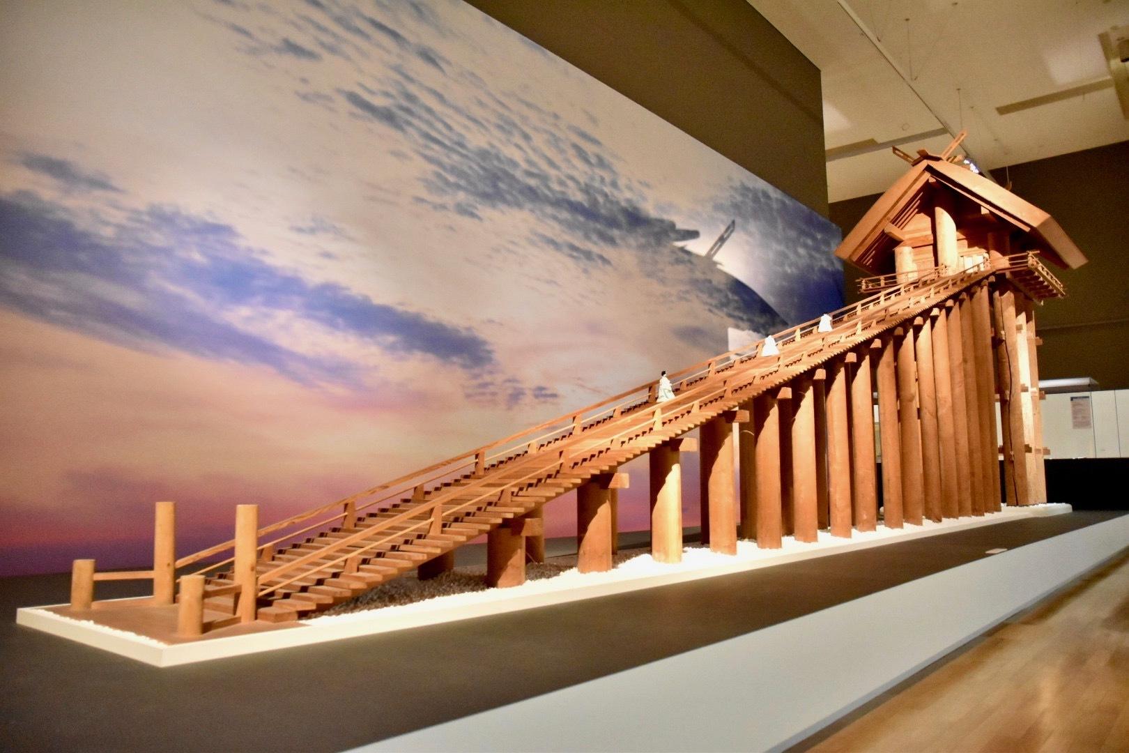 模型 出雲大社本殿 平成11年(1999) 島根・出雲市