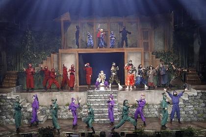 「ミュージカル『忍たま乱太郎』第11弾 忍たま 恐怖のきもだめし」東京公演が開幕 千秋楽の動画生配信も決定