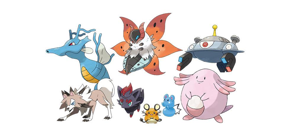「鎧の孤島」ポケモンたち (c)2020 Pokémon. (c)1995-2020 Nintendo/Creatures Inc. /GAME FREAK inc.
