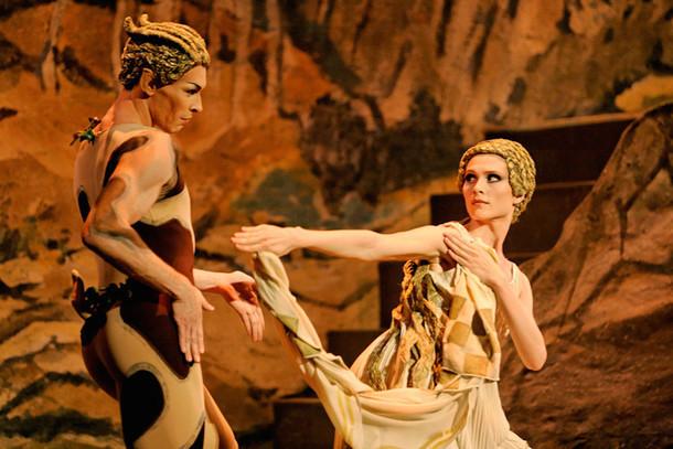 パリ・オペラ座『バレエ・リュス』より「牧神の午後」
