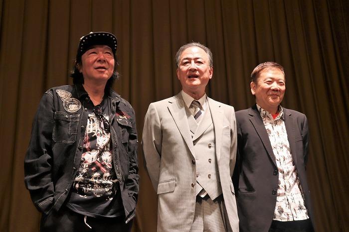 (左から)古田新太、細川展裕、鴻上尚史