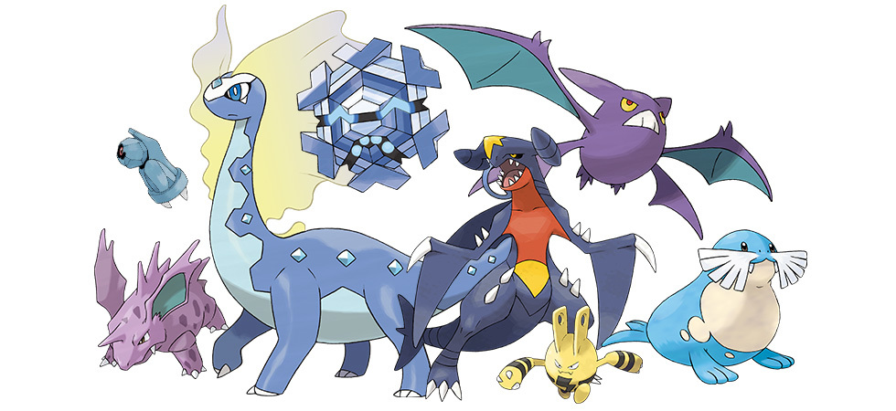 「冠の雪原」ポケモンたち (c)2020 Pokémon. (c)1995-2020 Nintendo/Creatures Inc. /GAME FREAK inc.