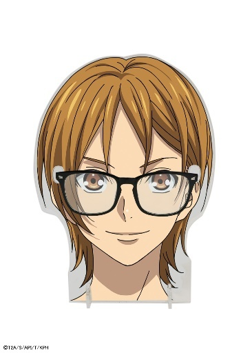 キンプリ×スピンズ 速水ヒロ愛用メガネ+アクリルメガネスタンド ¥4,999(税抜き)