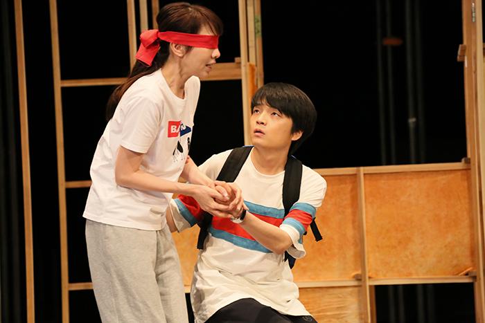 『ビビを見た!』稽古場風景 撮影:宮川舞子