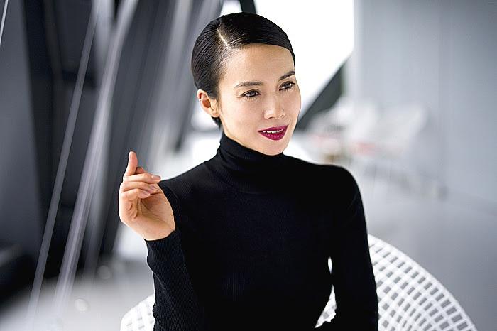 『黒蜥蜴』主演の中谷美紀 撮影:舞山秀一