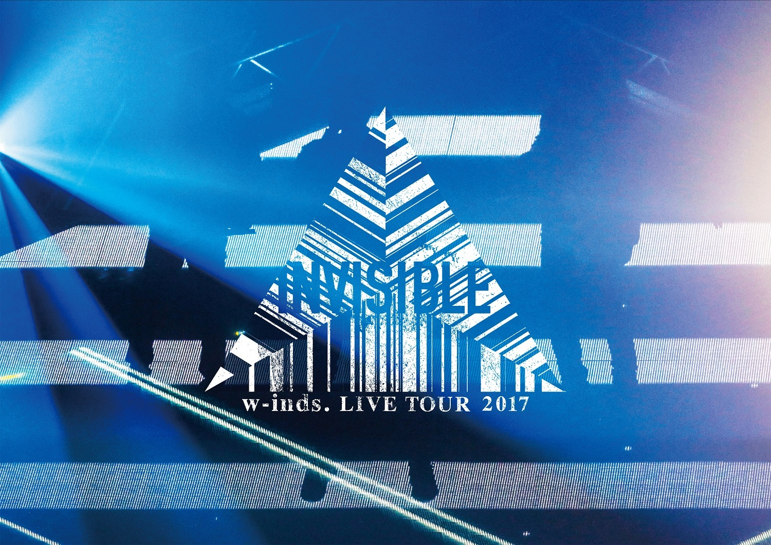 "『w-inds. LIVE TOUR 2017 ""INVISIBLE""』DVD初回盤"