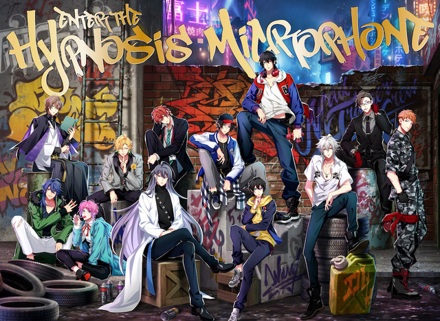 「Enter the Hypnosis Microphone」初回限定LIVE盤ジャケット