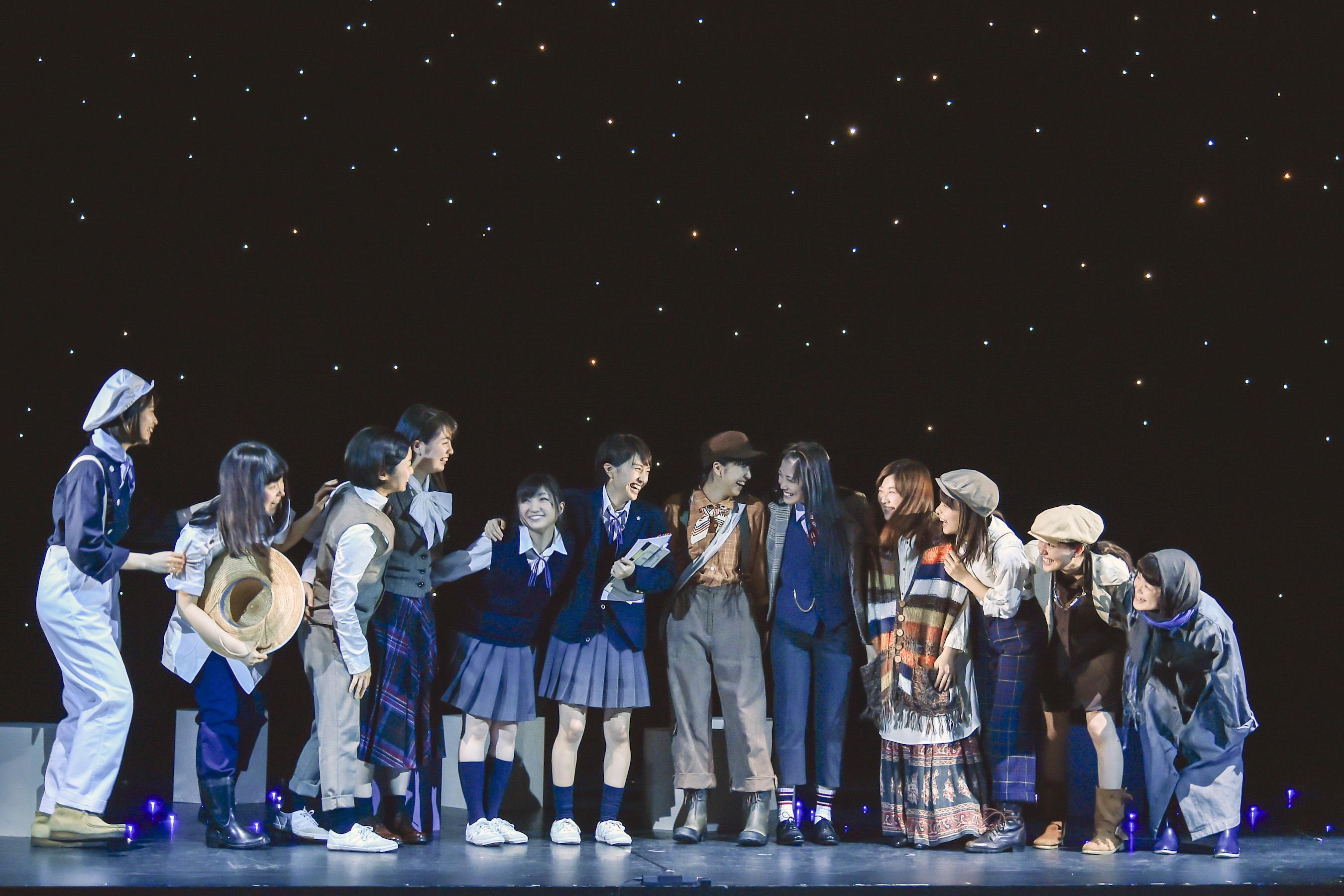 2015年舞台「幕が上がる」  写真提供:株式会社パルコ 撮影:阿部章仁