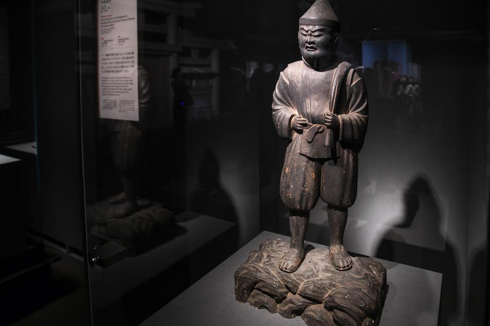 《大国主大神立像》平安時代・12世紀 奈良・大神神社蔵