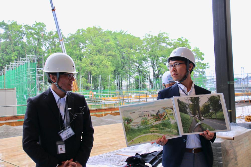 スヌーピーミュージアム建設予定地