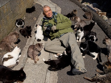 『岩合光昭写真展 ねこづくし』が川崎市市民ミュージアムで開催 日本各地で出会った猫たちを紹介