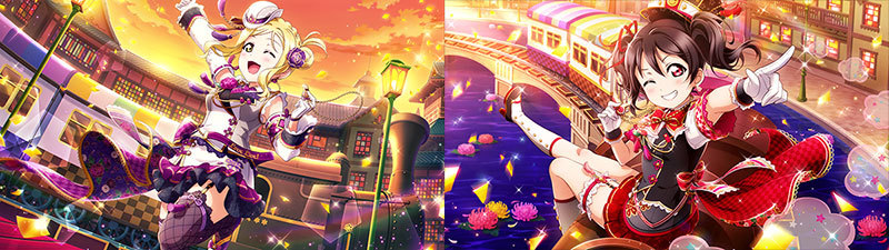 (C)2013 プロジェクトラブライブ! (C)2017 プロジェクトラブライブ!サンシャイン!! (C)プロジェクトラブライブ!虹ヶ咲学園スクールアイドル同好会 (C)KLabGames (C)SUNRISE (C)bushiroad
