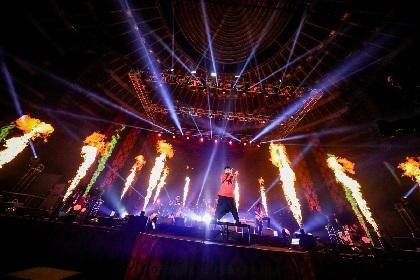 闇を描き続けてきたバンドが差し出した光――THE ORAL CIGATETTESの大阪城ホールワンマンを観た