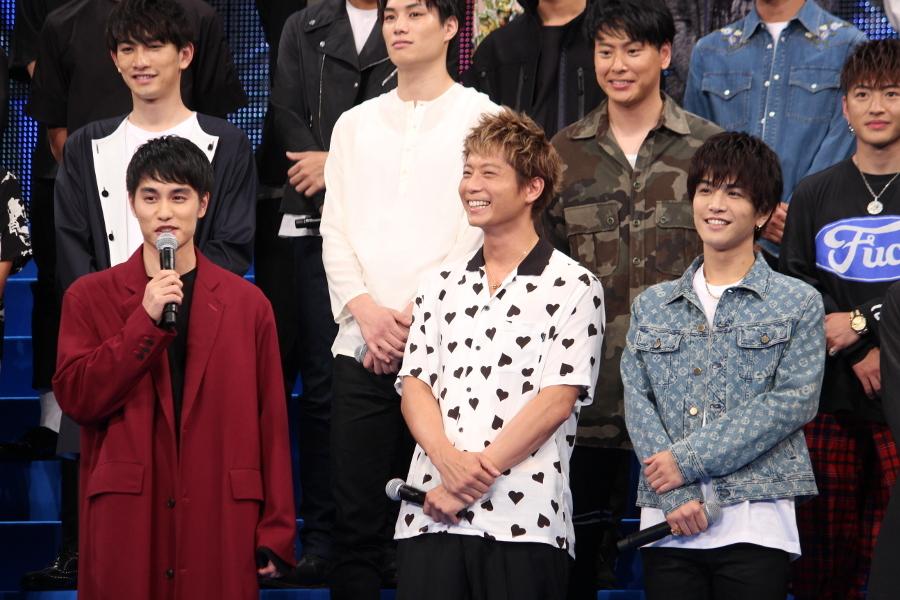 (左から)中村蒼、黒木啓司、岩田剛典