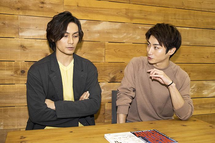 (左から)加藤和樹、木村達成
