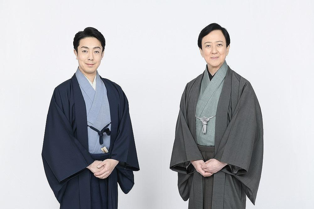 (右から)坂東玉三郎・尾上菊之助 /(C)松竹