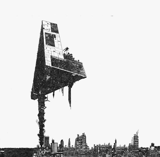 坂口恭平《Dig-Ital City Prototype》2008年(参考図版) 協力:セゾンアートワークス