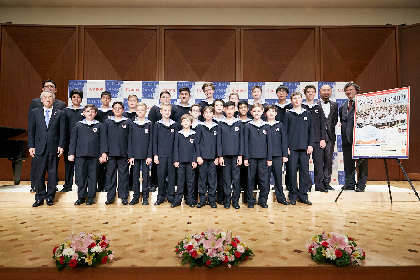ウィーン少年合唱団2018年日本公演 癒しのオーラが溢れ出す、「天使の歌声」来日公演がいよいよスタート
