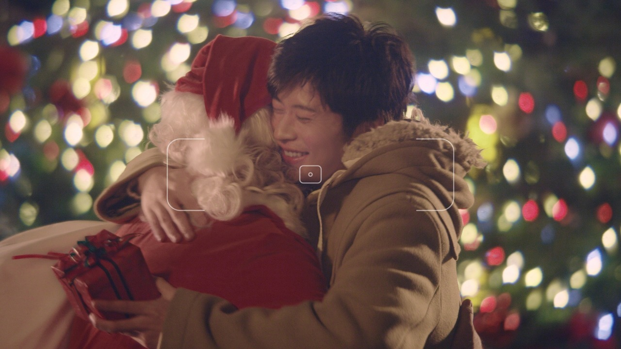 ソフトバンク 新テレビ CM「恋人がサンタクロース」篇