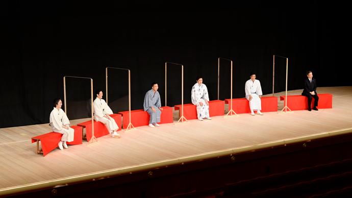 『八月花形歌舞伎』製作発表記者会見の模様  (C)松竹