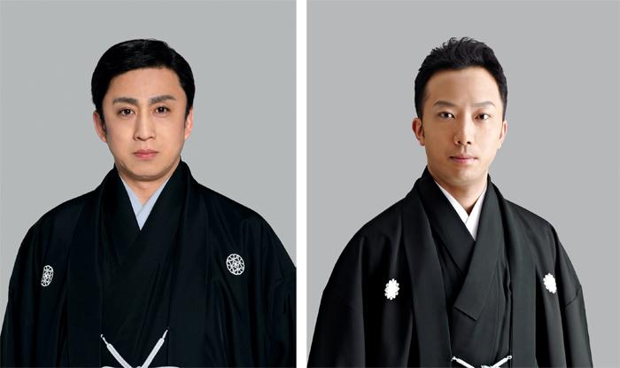 (左から)松本幸四郎、市川猿之助 (C)松竹