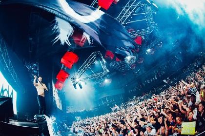 「地球No.1パーティー野郎」スティーヴ・アオキの公演レポートが到着