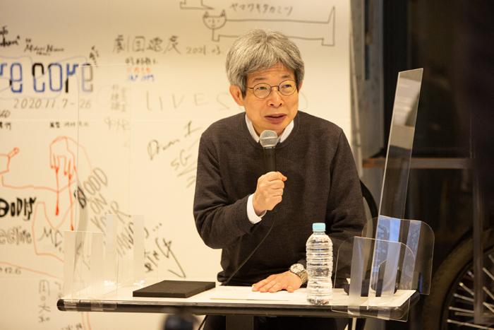 平田オリザ  城崎国際アートセンター現芸術監督 (photo:igaki photo studio)