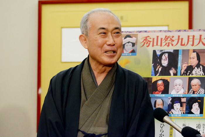 『秀山祭九月大歌舞伎』中村吉右衛門