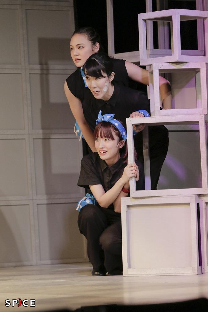 ミュージカル『(愛おしき) ボクの時代』舞台写真 撮影:岡 千里