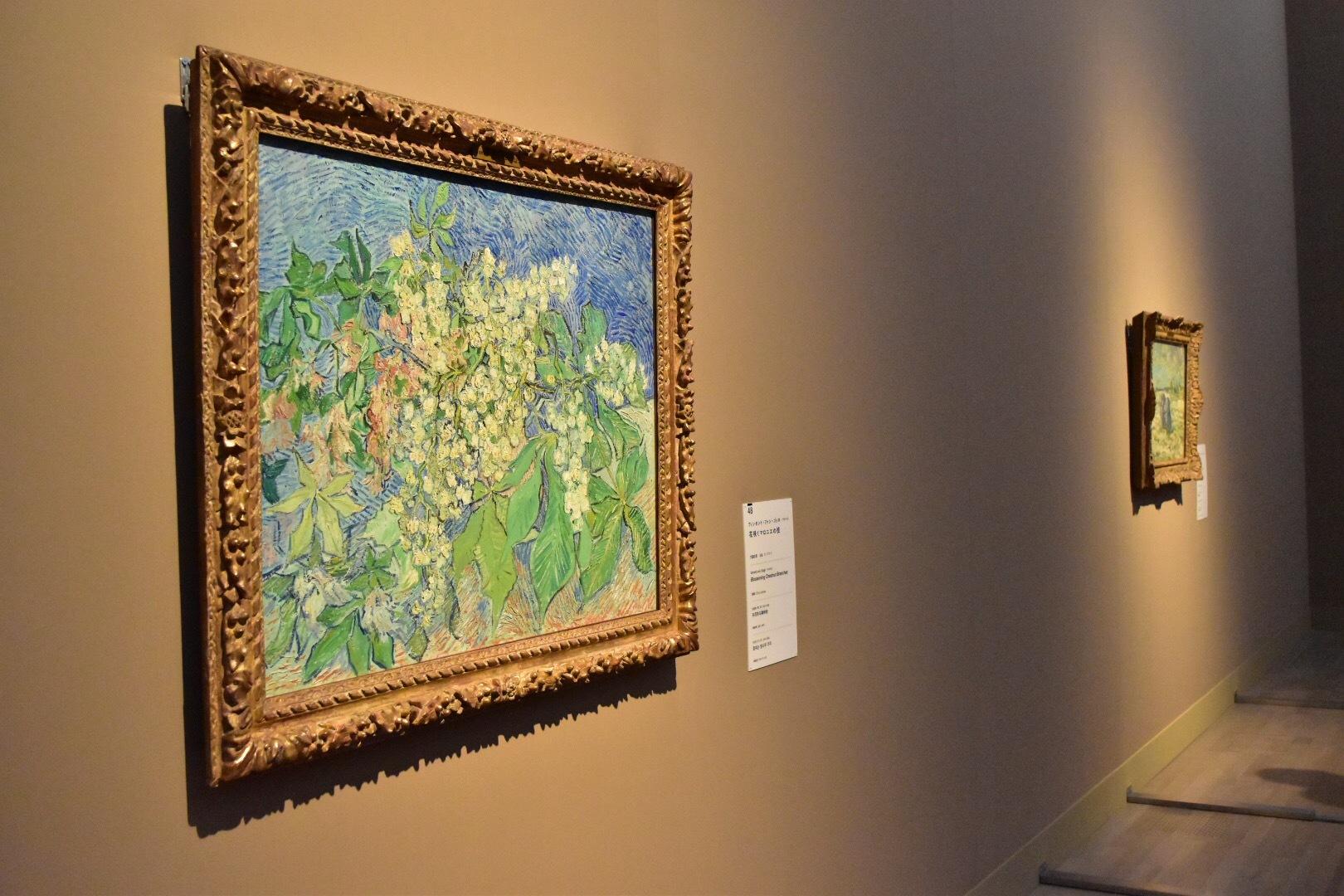フィンセント・ファン・ゴッホ 《花咲くマロニエの枝》 1890年