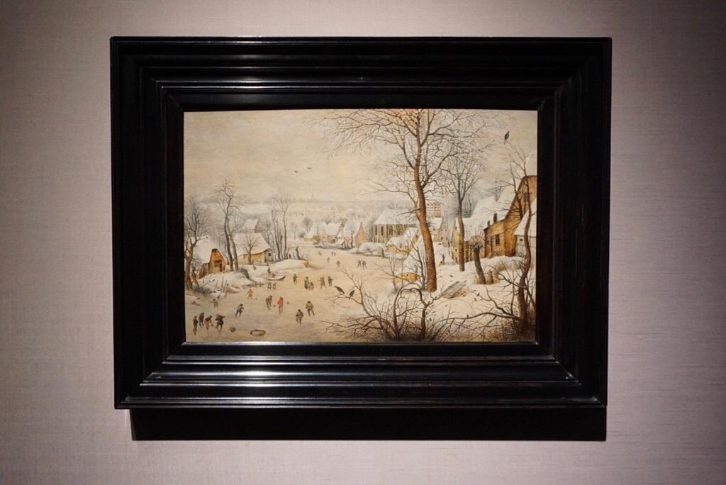 《鳥罠》ピーテル・ブリューゲル2世  1601年