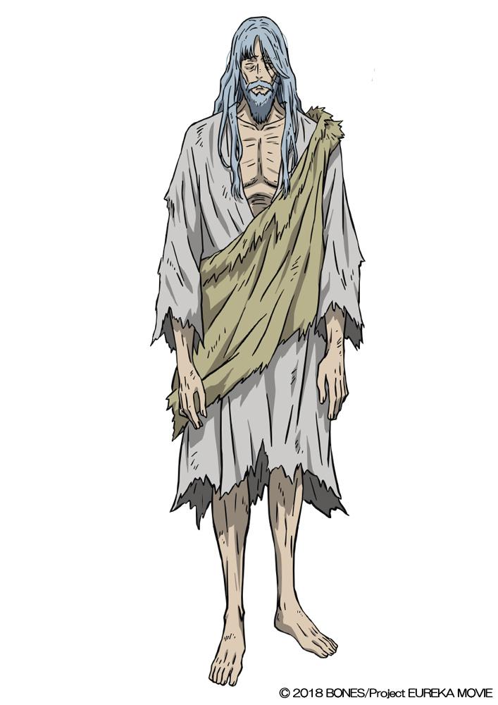 デューイ・ノヴァク(CV.辻谷耕史) エウレカセブン付近で発見された謎の男。研究対象としてアシッドに拘束されている