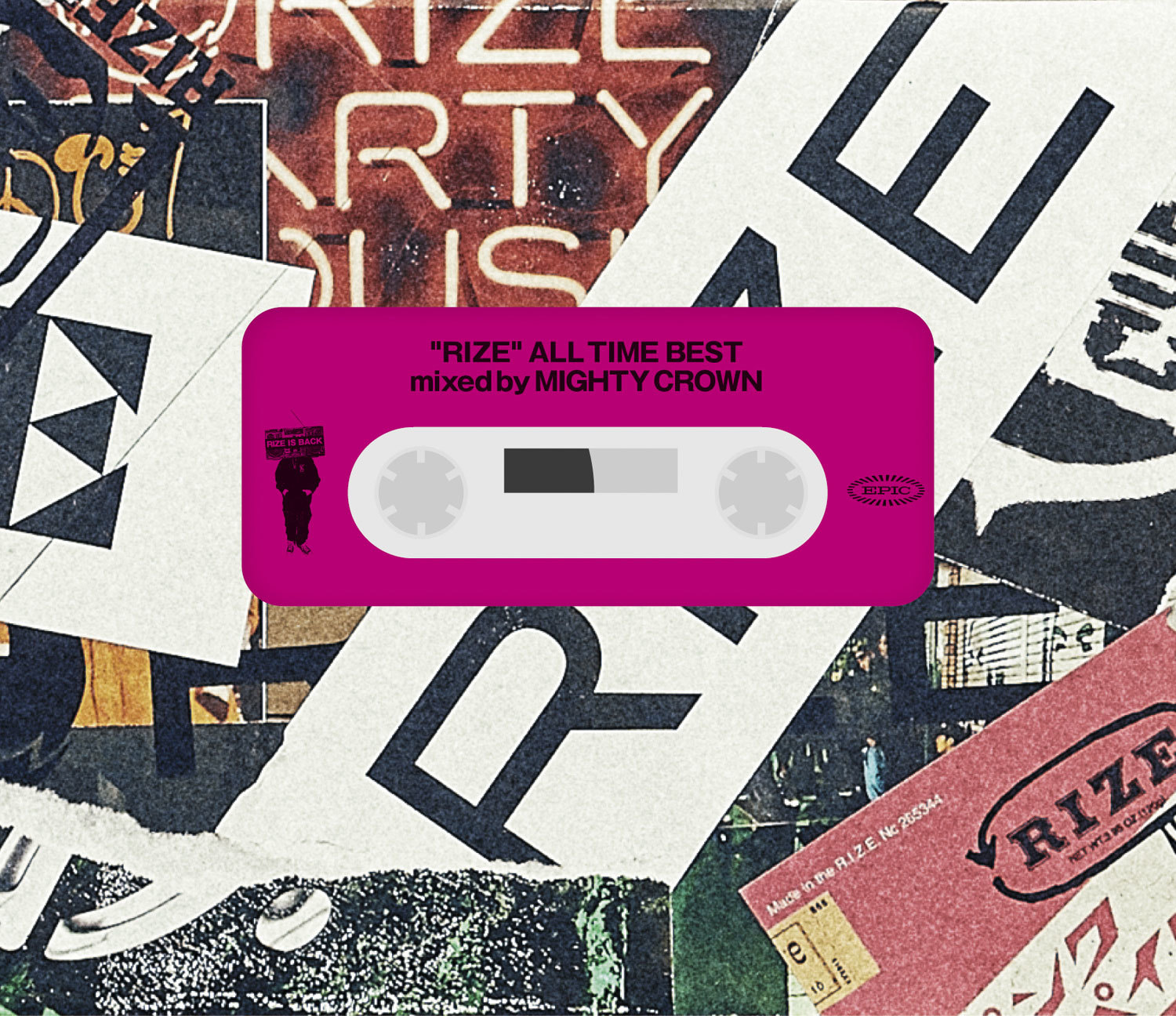 RIZE『ALL TIME BEST mixed by MIGHTY CROWN』完全生産限定盤