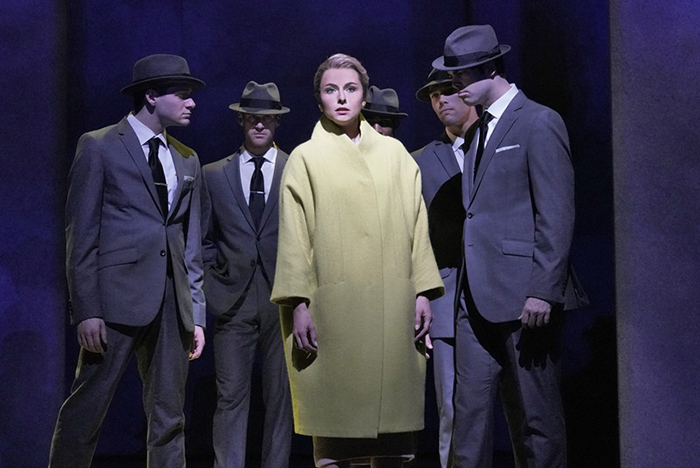 MET『マーニー』より ⓒKen Howard/ Metropolitan Opera