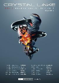Crystal Lake 全国ワンマンツアーの第2弾を発表