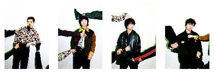 OKAMOTO'S 新アルバムの特設サイト開設 メンバーの幼少期の写真をコラージュしたジャケットも公開に