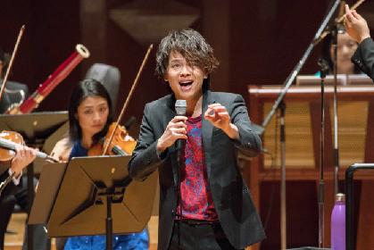 中川晃教、春のシンフォニック・コンサートツアー2018『Spring has Come』~大阪公演開幕レポート!