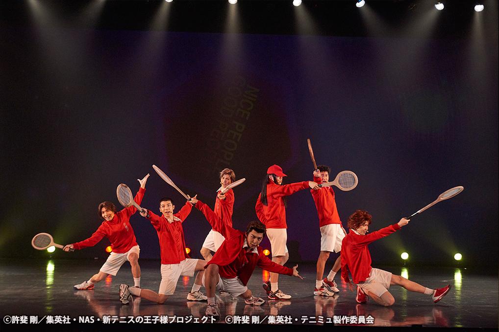 TEAM Party ROKKAKU より ⓒ許斐 剛/集英社・NAS・新テニスの王子様プロジェクト ⓒ許斐 剛/集英社・テニミュ製作委員会