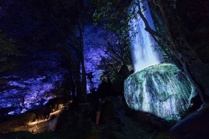 巨大アート展『チームラボ かみさまがすまう森』 規模を拡大して、今年も九州・御船山楽園で開催