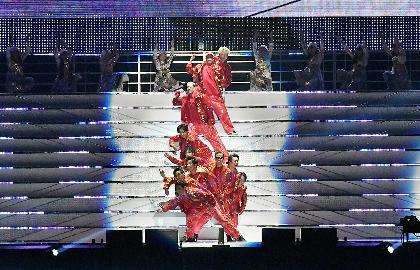『LDH PERFECT YEAR 2020』がスタート 幕開け公演のEXILEパーフェクトライブに35,000人が熱狂