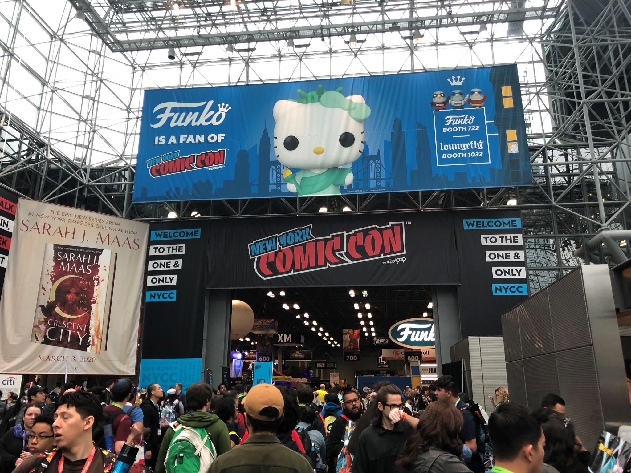 「New York Comic Con」