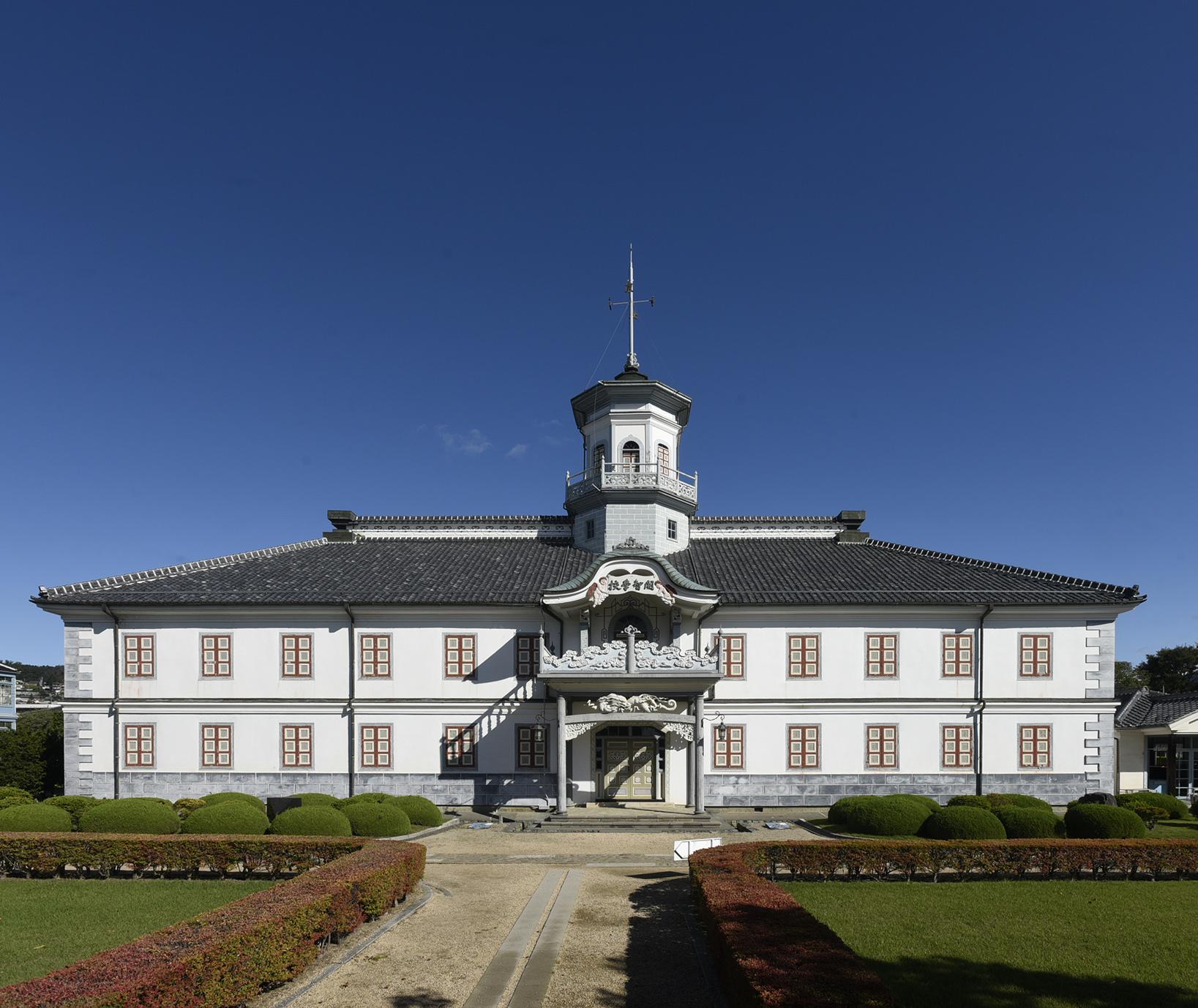 旧開智学校(重要文化財) 1876年立石清重 写真提供:旧開智学校