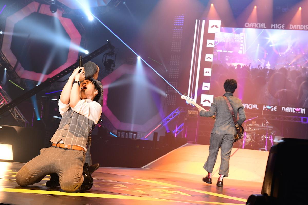 Official髭男dism  ©テレビ朝日 ドリームフェスティバル 2018 / 写真:岸田哲平