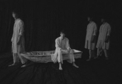 宮沢氷魚、青柳いづみ、豊田エリー、中嶋朋子にミニインタビュー~舞台『BOAT』ビジュアル撮影現場にて