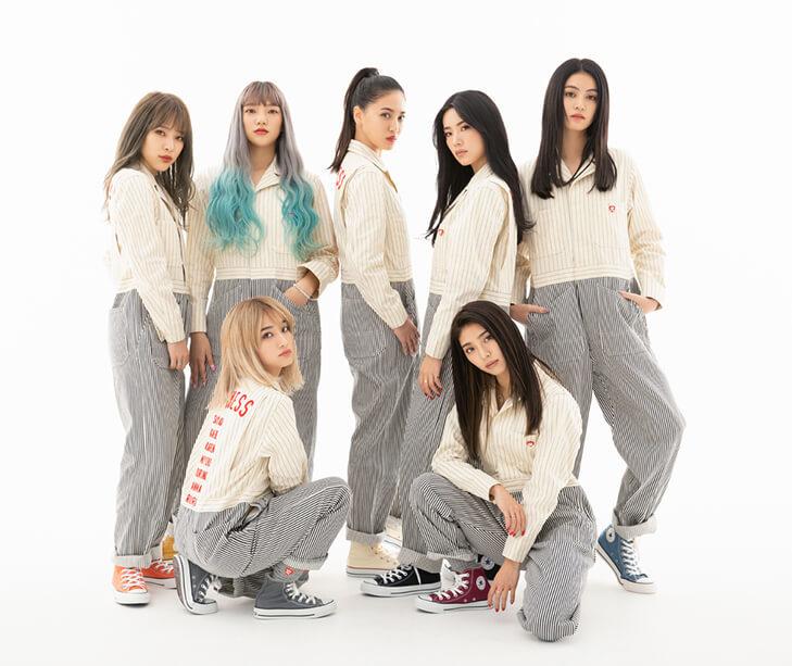 7人組ダンス&ボーカルグループHappiness